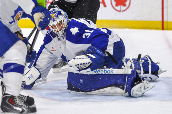 Marlies in driver's seat after Game 3 blowout