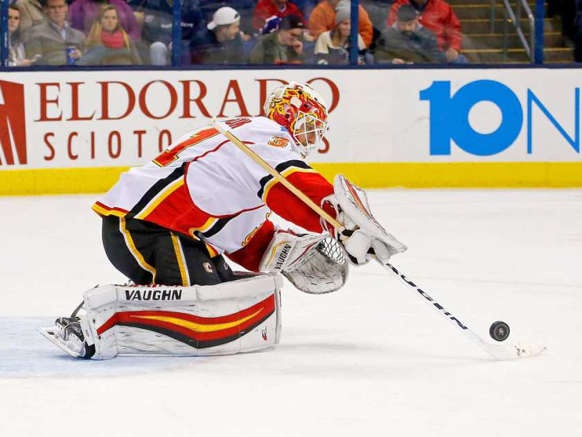 Flames Pounce Early Against Leafs