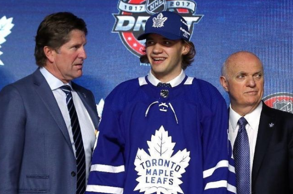 Leafs announce rookie tournament roster