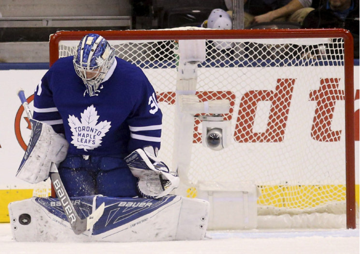 Andersen outduels Luongo in shutout win