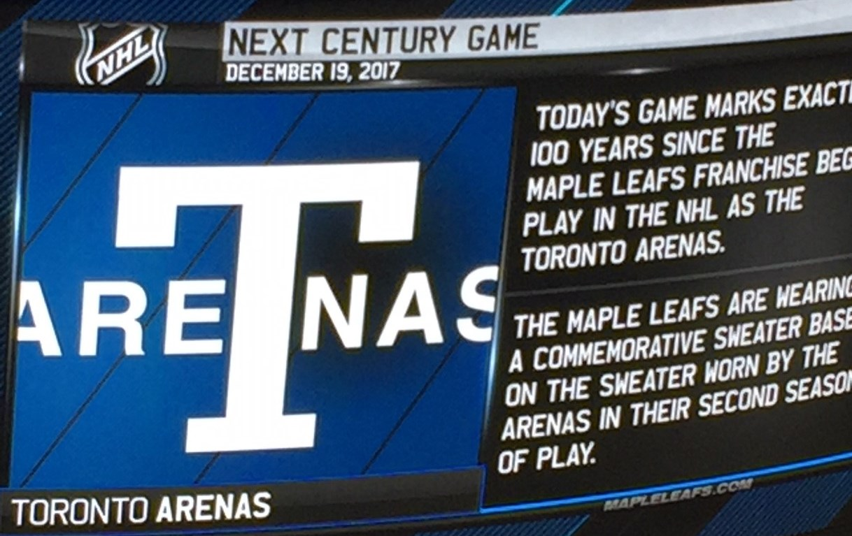 Leafs ring in the next century with a bang