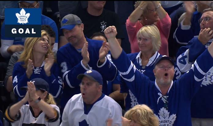 Leafs lose shootout to Bolts