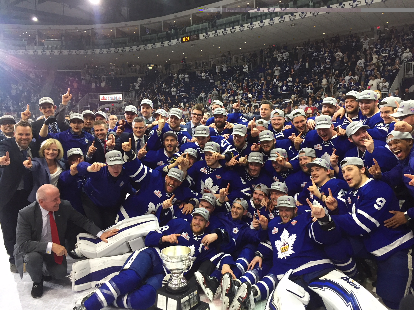Calder Cup champions! Marlies clinch title