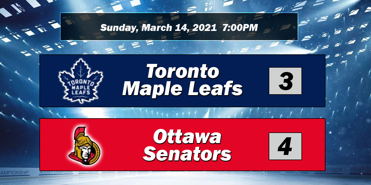 Leafs Lose to Ontario Rivals